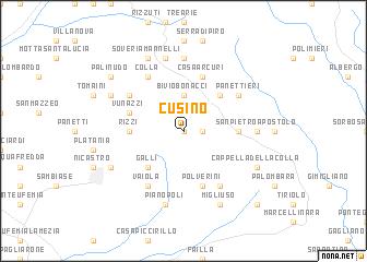map of Cusino
