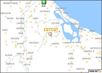 map of Cutcut