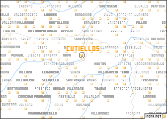 map of Cutiellos