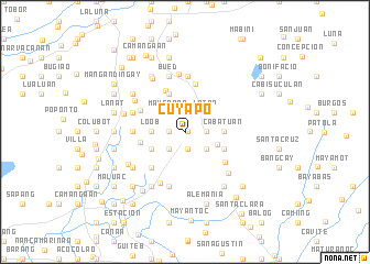 map of Cuyapo