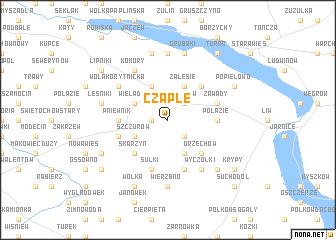 map of Czaple