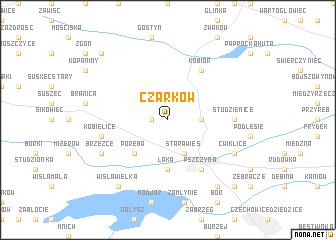 map of Czarków