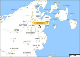 map of Da-anbanua