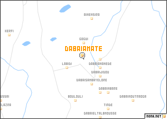 map of Dabaï Amate