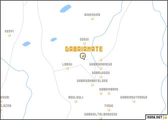 map of Dabaï Amate