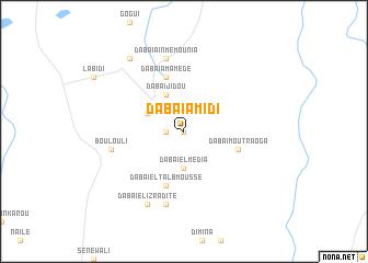 map of Dabaï Amidi