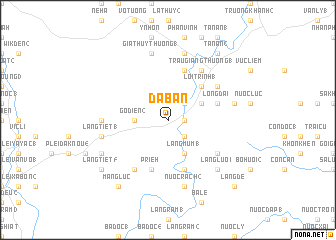 map of Ðá Bàn