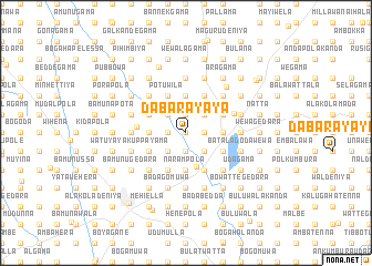 map of Dabarayaya