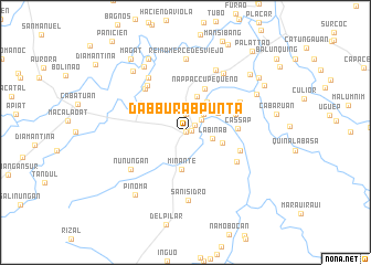 map of Dabburab Punta