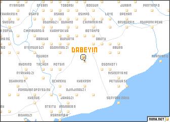 map of Dabeyin