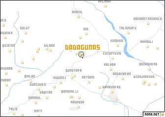map of Dǝdǝgünǝş