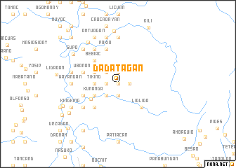 map of Dadatagan