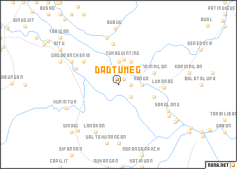 map of Dadtumeg