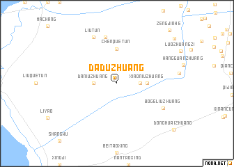 map of Daduzhuang