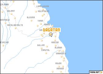 map of Dagatan