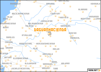 map of Daguan Hacienda