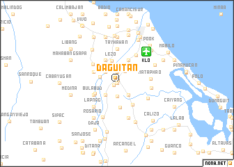 map of Daguitan