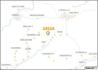 map of Dagus