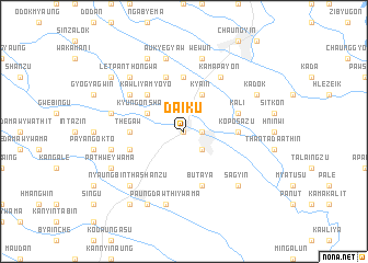 map of Daik-u