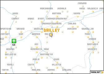 map of Dailley
