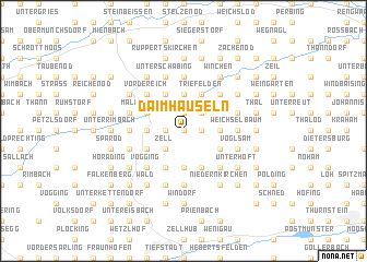 map of Daimhäuseln