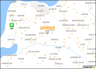 map of Daïmous