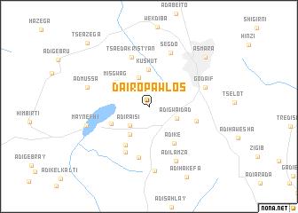 map of Da'iro P'awlos
