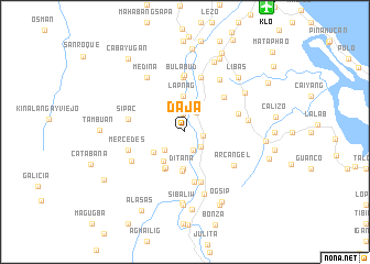 map of Daja