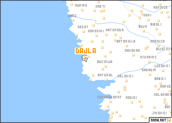 map of Dajla