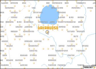 map of Dakabuoso