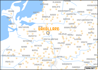 map of Dakollarë