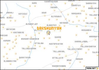 map of Dakshūrīyah