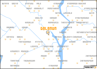 map of Dalanun