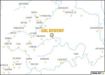 map of Dalapanap