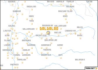 map of Daldalao