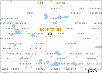 map of Daleczkąt
