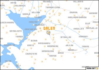 map of Dalēn