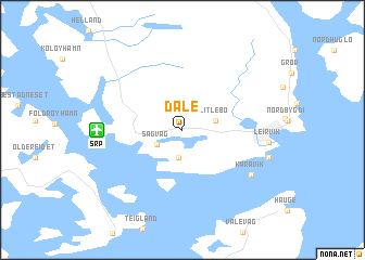 map of Dale