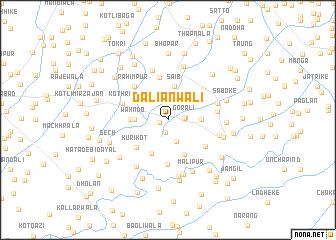 map of Daliānwāli