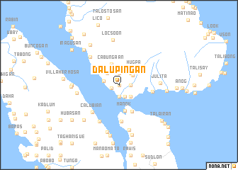 map of Dalupingan