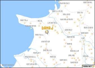 map of Damaj