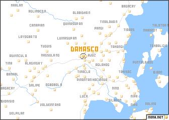map of Damasco