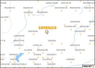 map of Dambauka