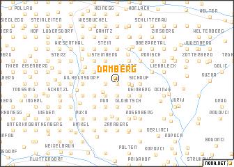 map of Damberg