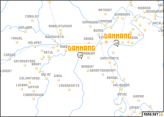 map of Dammang