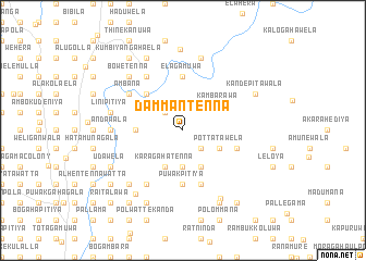 map of Dammantenna