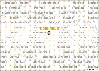 map of Damunowa