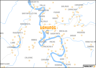 map of Damurog