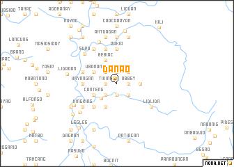 map of Danao