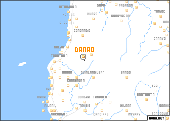 map of Danao